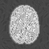 Artificial intelligence — Stock Vector