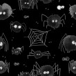 Pattern with halloween's spider theme — Stock Photo #66981887