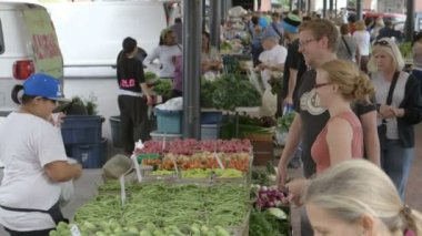 Saint Paul Farmer's Market — Stock Video