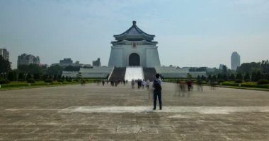 Chiang Kai-shek Memorial Hall — Stock Video