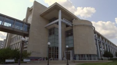 Administracji zdrowia w Minnesota budynku — Wideo stockowe