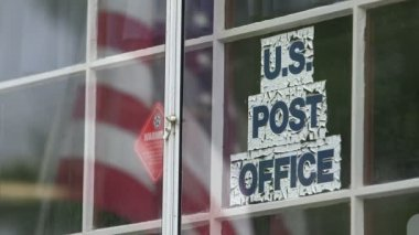 US  post office — Stock Video