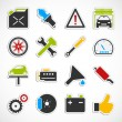 Car Service Icons - color — Stock Photo #53091707