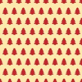 Seamless Pattern Of Christmas Tree 1 — Stock Photo