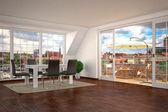 Luxurios apartment - living room - shot 2 — Stockfoto