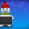 3D - Snowman - Shot 28 — Stock Photo #58926697