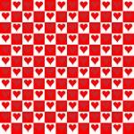 Seamless Texture - Hearts 6 — Stock Photo #62081365
