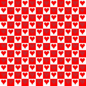 Seamless Texture - Hearts 6 — Stock Photo