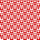 Seamless Texture - Hearts 4 — Stock Photo