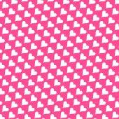 Bezešvá textura - srdce 8 — Stock fotografie