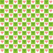 Seamless Texture - Hearts 9 — Stock Photo