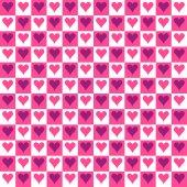 Seamless Texture - Hearts 15 — Stock Photo