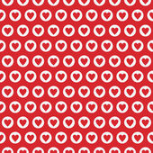 Seamless Texture - Hearts — Stock Photo