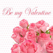 Happy valentines day greeting card 3 — Stock Photo