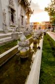 Buddist temple in Lampang, Thailand — Stock Photo