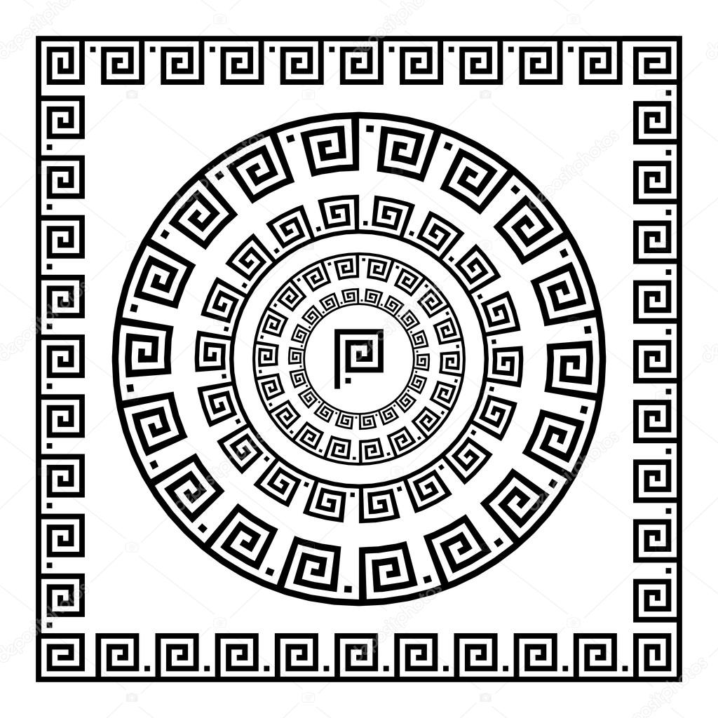 Греческий орнамент. Круг орнамент меандр. Круглая рамка ...: http://ru.depositphotos.com/122896740/stock-illustration-greek-ornament-circle-ornament-meander.html