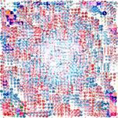 Color ball on a blak bakground vector art — Stock Vector