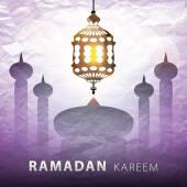 Ramadan Kareem, greeting background, eps 10 — Stock Vector