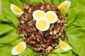 Red rice salad — Stock Photo
