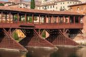 Bridge Bassano del Grappa — Stock Photo