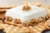 Gorgonzola cheese cake — Stock Photo