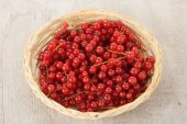 Currant in the basket — Stock Photo