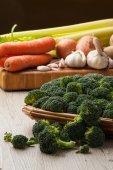 Broccoli Cauliflower — Stock Photo