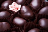 Chocolates in a bowl — Stock Photo