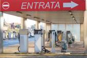 Petrol auto  station — Stock Photo