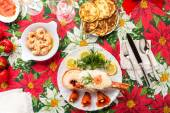 Lobster with mayonnaise — Stock Photo