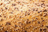 Bread with sesame seeds — Stock Photo