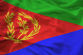 Flag eritrea — Stock Photo