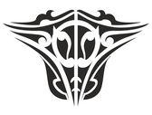 Symmetrical abstract Tattoo — Stock Photo