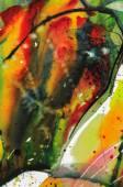 Streszczenie tekstura akwarela — Zdjęcie stockowe