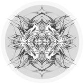 Round  lace pattern — Stock Photo