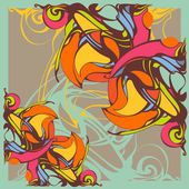 Decorative lace pattern — Zdjęcie stockowe