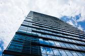 Glass skyscraper — Foto Stock