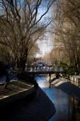 речной парк — Стоковое фото