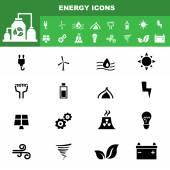 Ecology icon set vector — Stock Vector