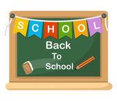 Επιστροφή στο σχολείο — Διανυσματικό Αρχείο