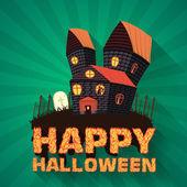Halloween time background — Stock Vector