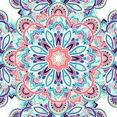 民族部族のシームレスなパターン — ストックベクタ