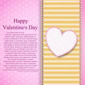 Felice giorno di san valentino sfondo — Vettoriale Stock