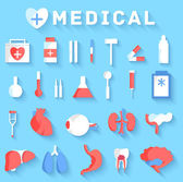 Medical equipment  icons — Stock Vector
