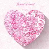 Sweet heart — Stock Vector