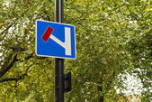 Signage in a London street — Stock Photo
