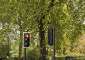 Traffic lights in London — Photo
