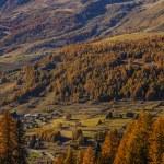 Autumn landscape in Aosta Valley 14 — Stock Photo #57499739