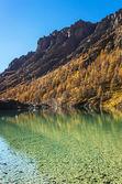 Mountain lake in Aosta Valley 3 — Stock Photo
