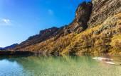 Mountain lake in Aosta Valley 2 — Stock Photo